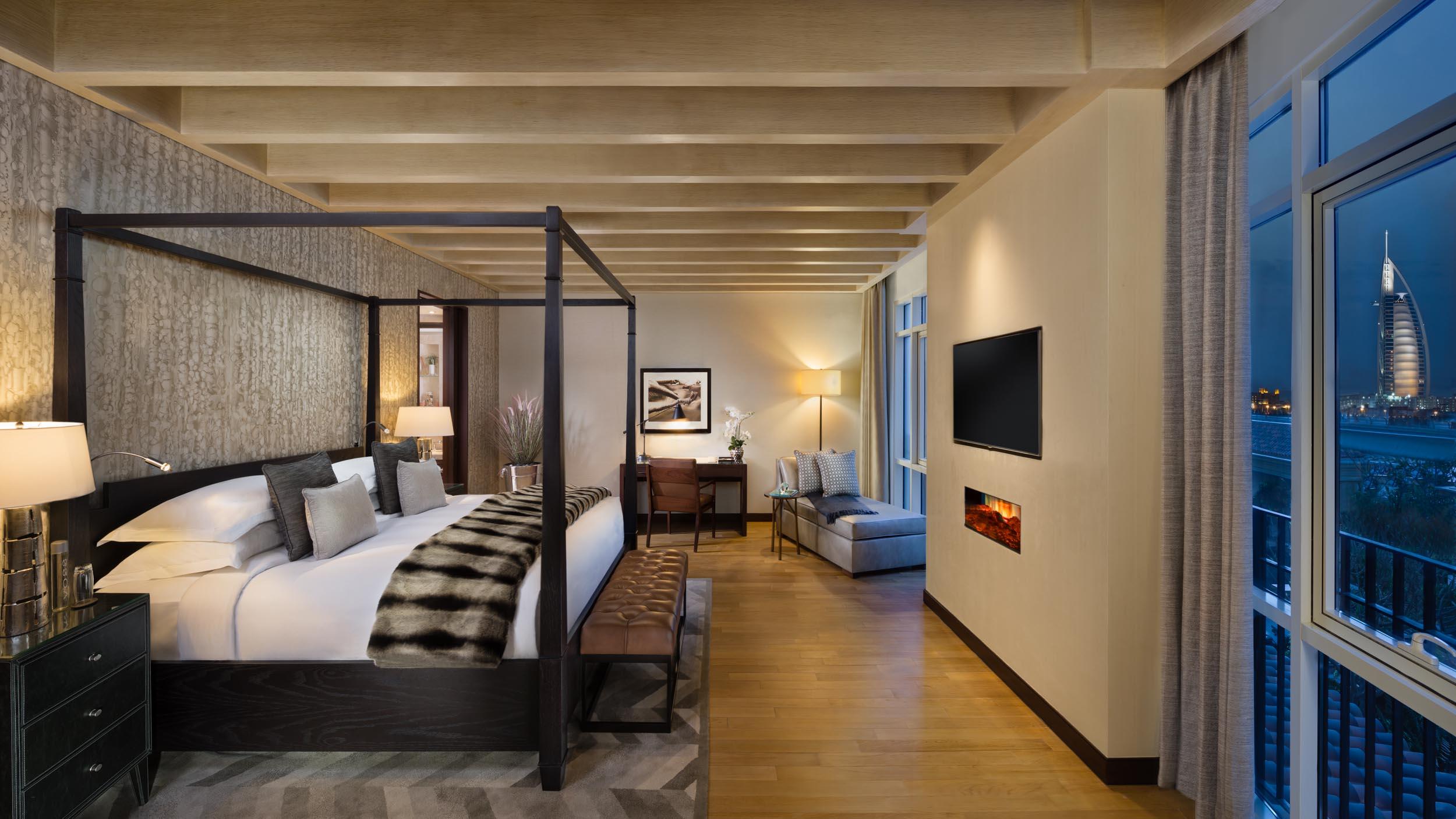 SKI Chalet Master Bedroom