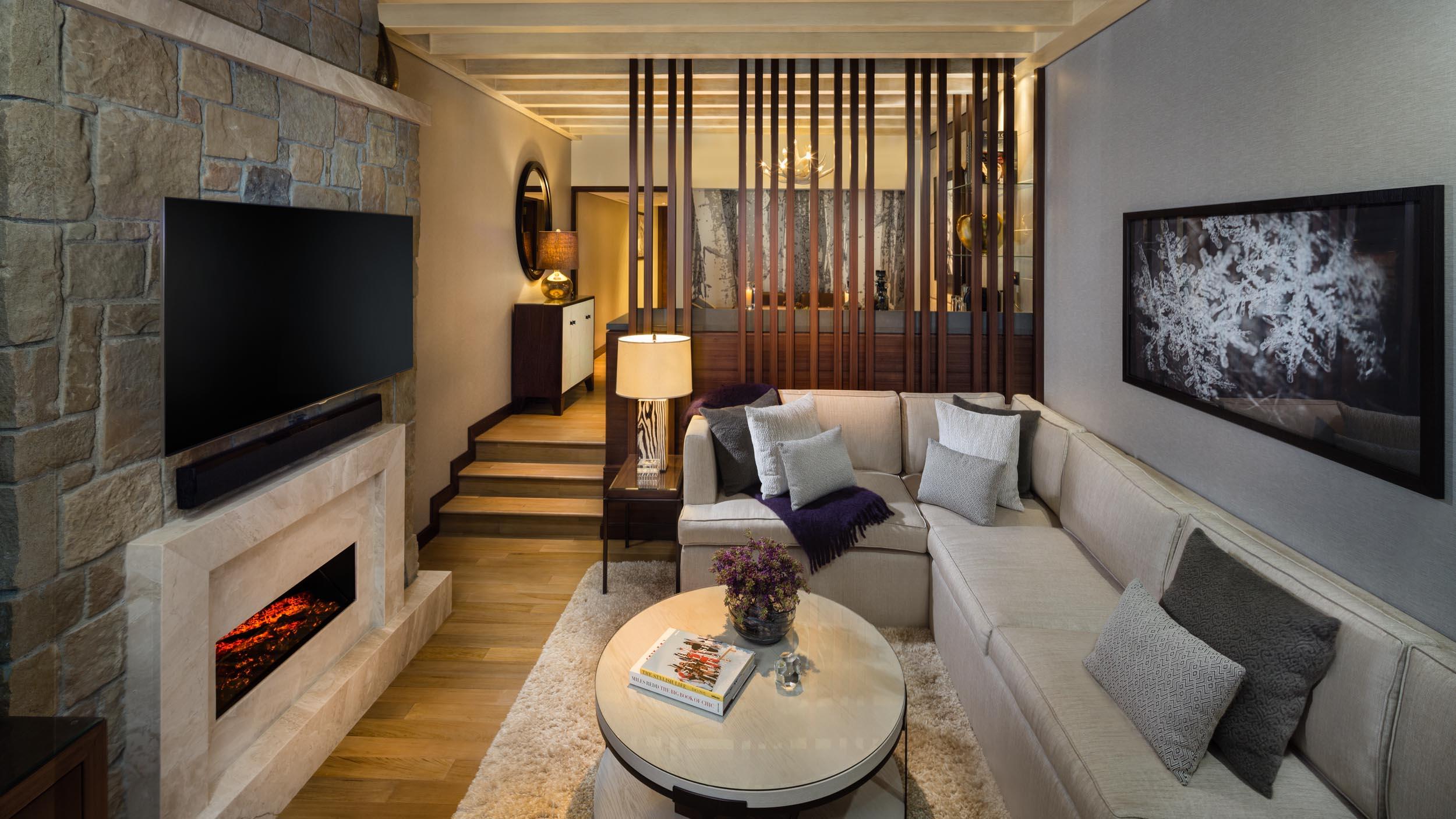 DUPLEX Chalet Living Room