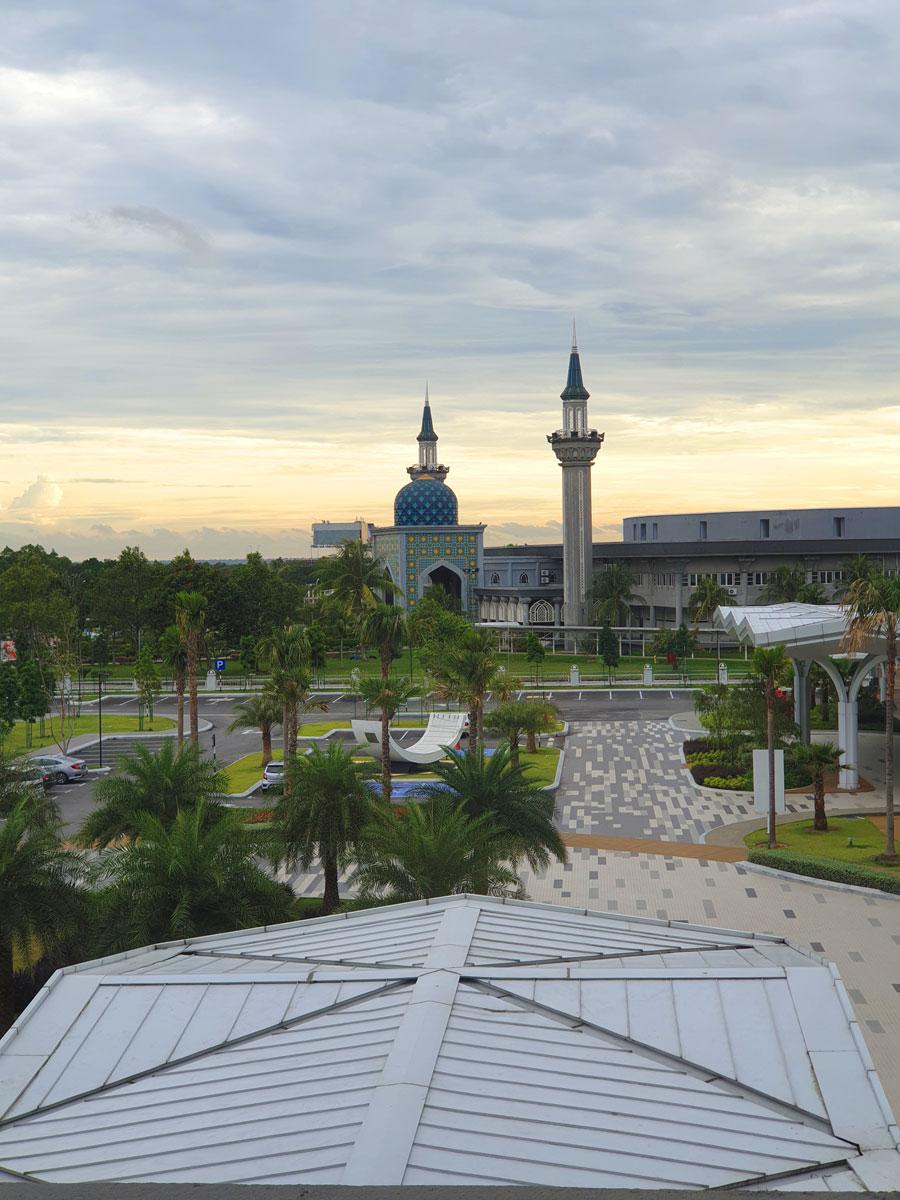 The Sultan Abdul Samad Mosque KLIA, Malaysia