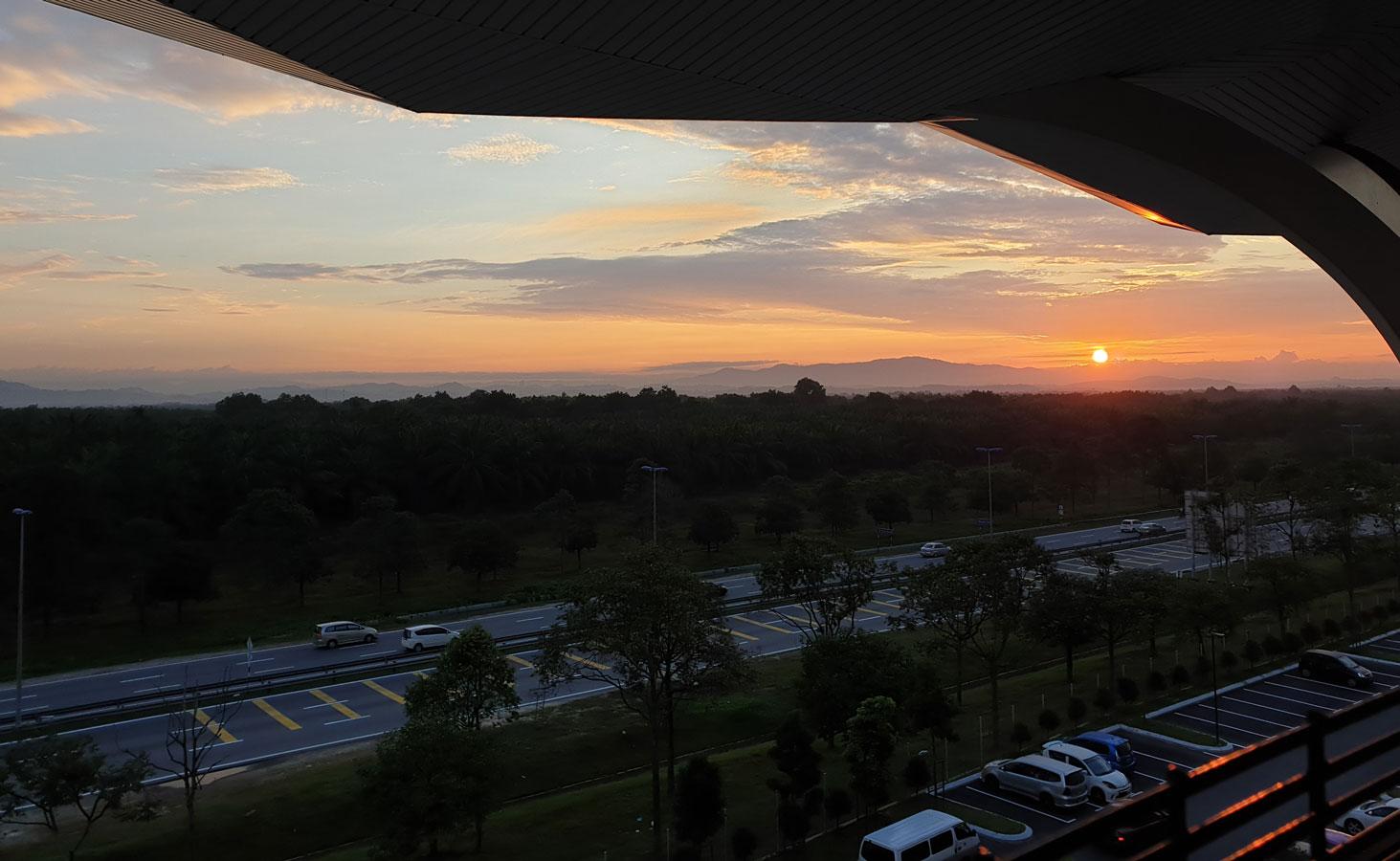 Sunrise at Movenpick KLIA
