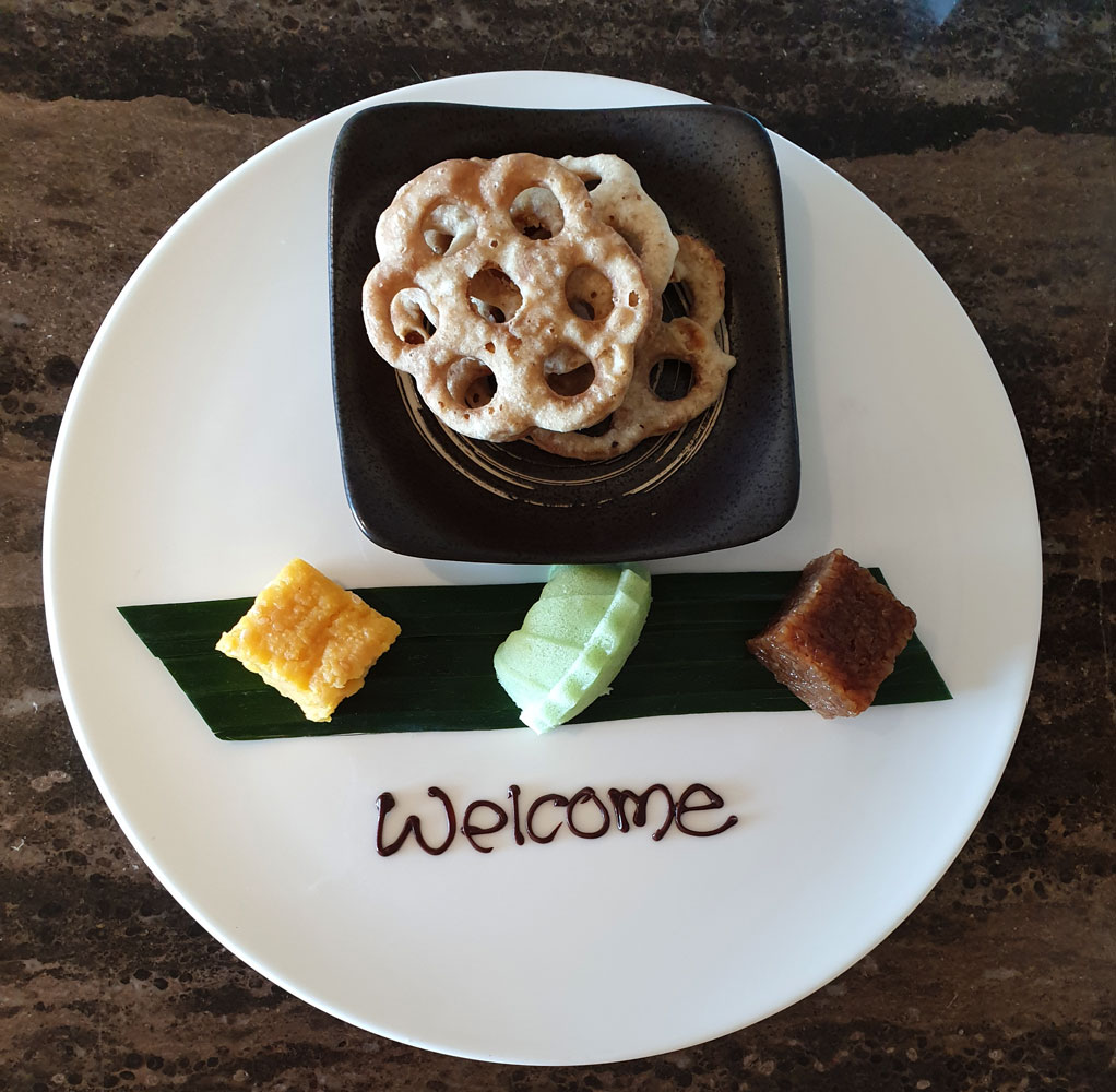 Welcome snacks