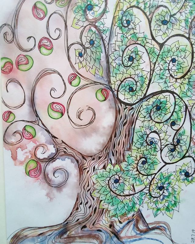 Tree of life can create some strange fruits...you just gotta keep sending out love.