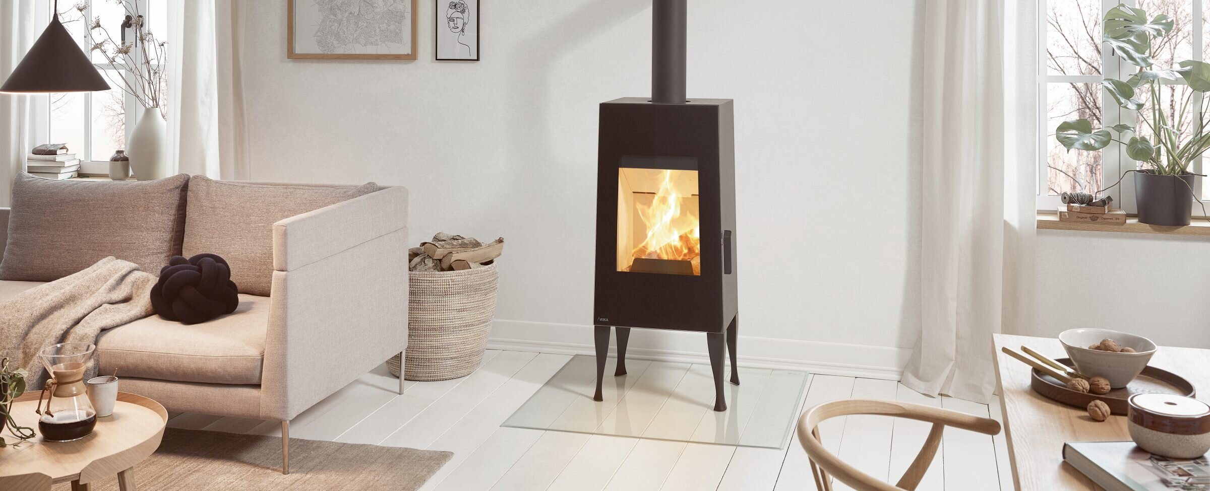 THE ULTIMATE GUIDE TO WOOD BURNING STOVES