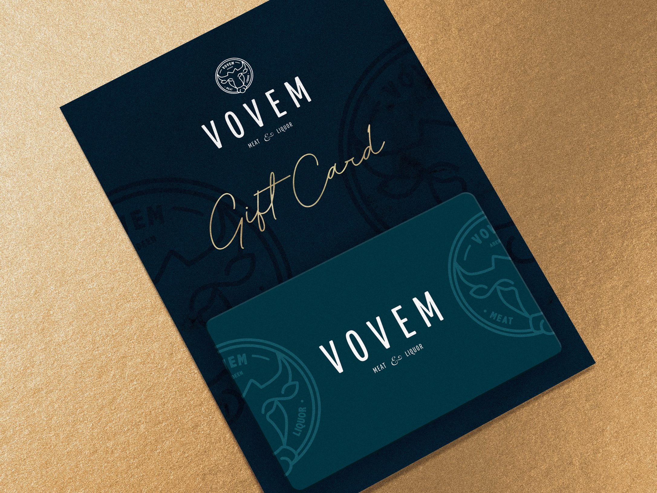 THE PERFECT GIFT THIS FESTIVE SEASON - Do you know someone who loves dining out? Our Vovem Gift Cards make the perfect gift for a foodie this festive season. Available to purchase from Vovem Meat & Liquor during opening hours.