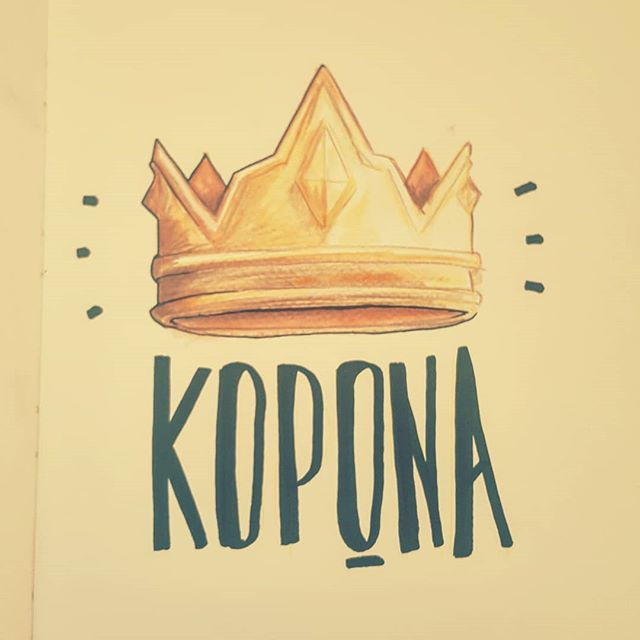 Watercolors hype, crown sketch 👑 . . . . #Scrapdog #hashtagexploring  #illustration #black #ink #watercolor #coloredpencil #colors #paper #sketchbook #sketch #crown #art #artwork #wip #painting #type #greek #street #streetart #pen #paint #painting #instaart #creative #inspiration #yellow #pipesgiafollow