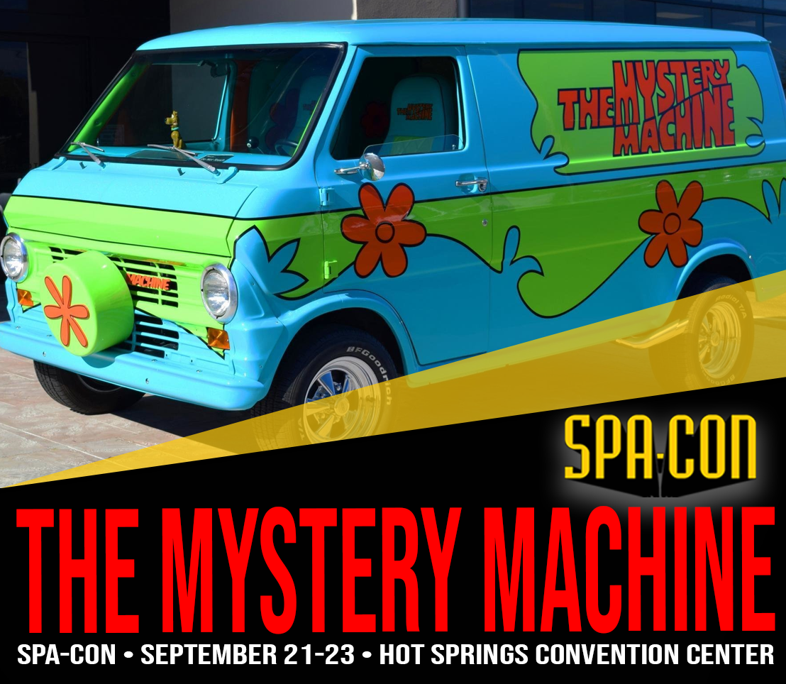 The Mystery Machine van