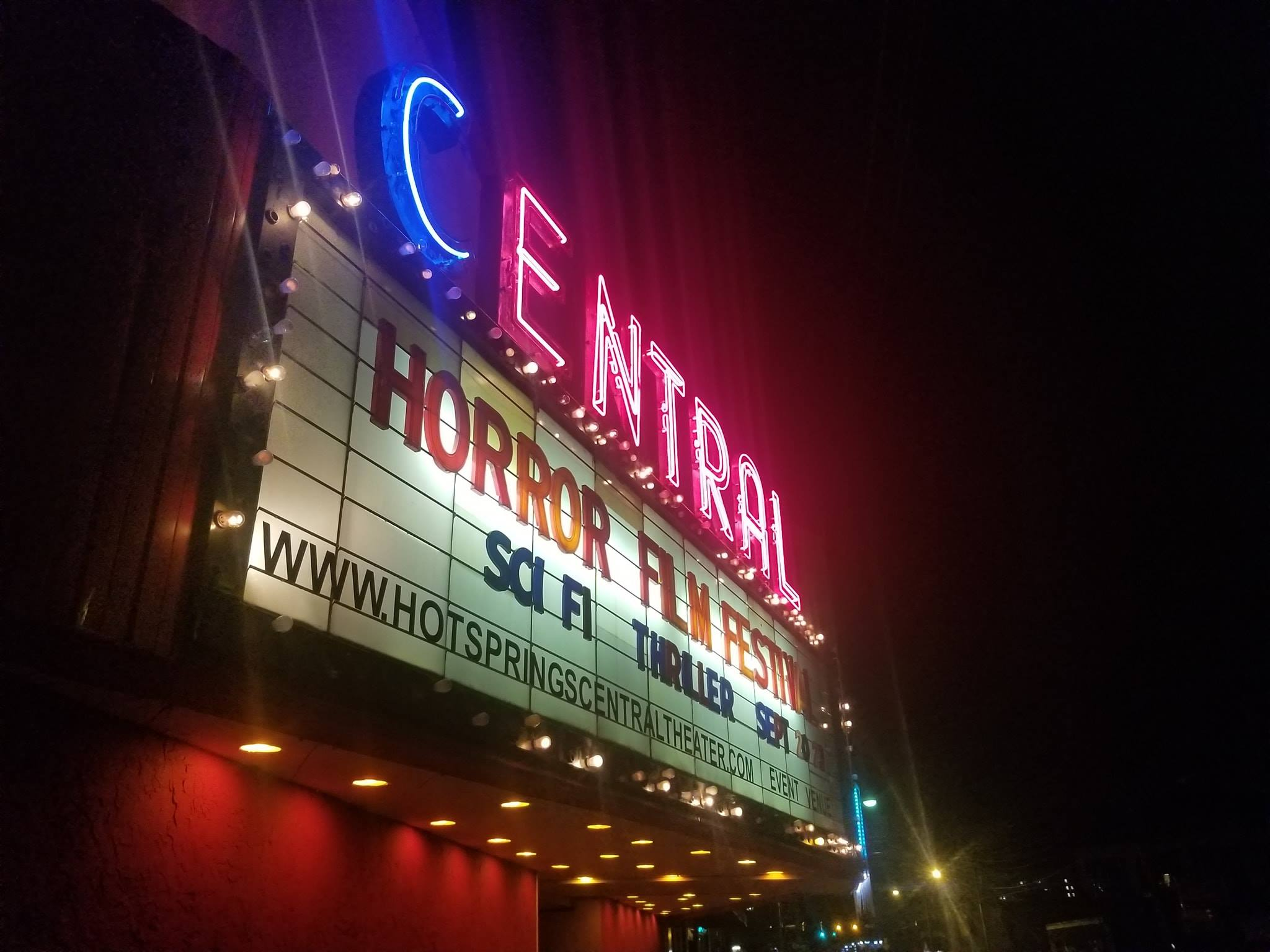 Central Theater    - Home of Hot Springs Horror Film Festival