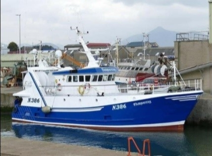 FAIRHAVENS N386   Type: Twin Rig Prawn Vessel  Size: 21m x 7m  Built: 1992; France