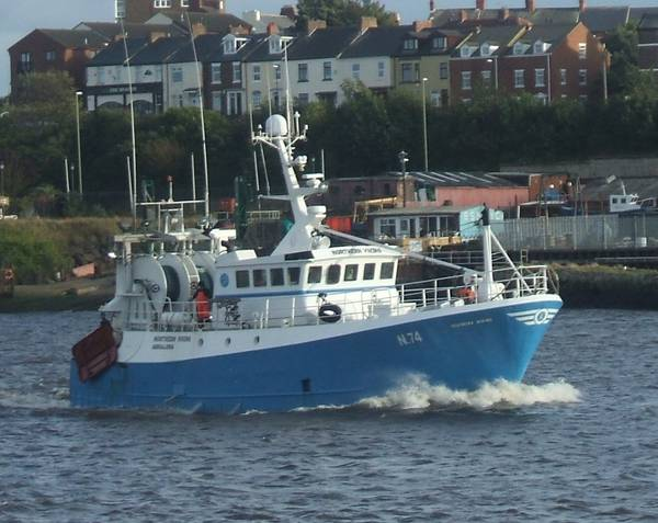 NORTHERN VIKING N74   Type: Metal Hull Trawler  Size: 20.4m  Built: 1983; France