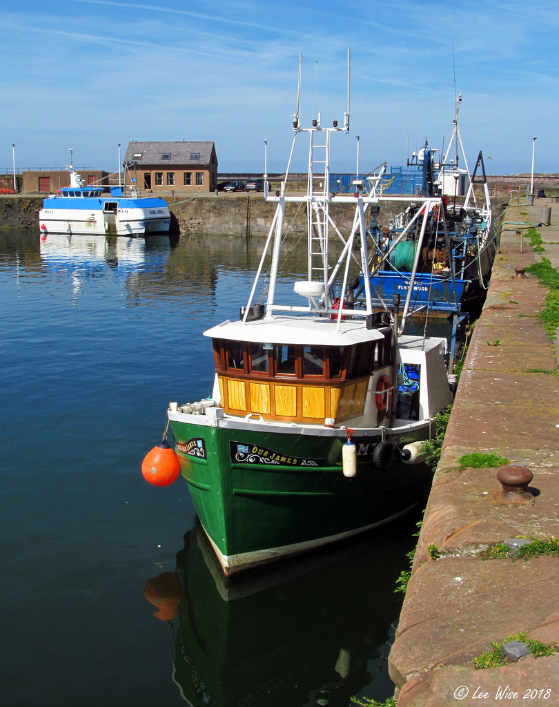 OUR JAMES MT66   Type: Wooden Hull Trawler  Size: 13.57m  Built: 1965; St Monans