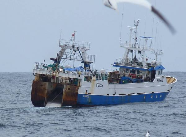 SANAMEDIO FD525   Type: Metal Hull Trawler  Size: 36m  Built: 1994; Spain