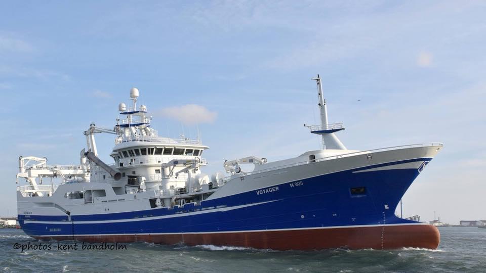 VOYAGER N905   Type: Metal Hull Trawler  Size: 75.4m  Built: 2010