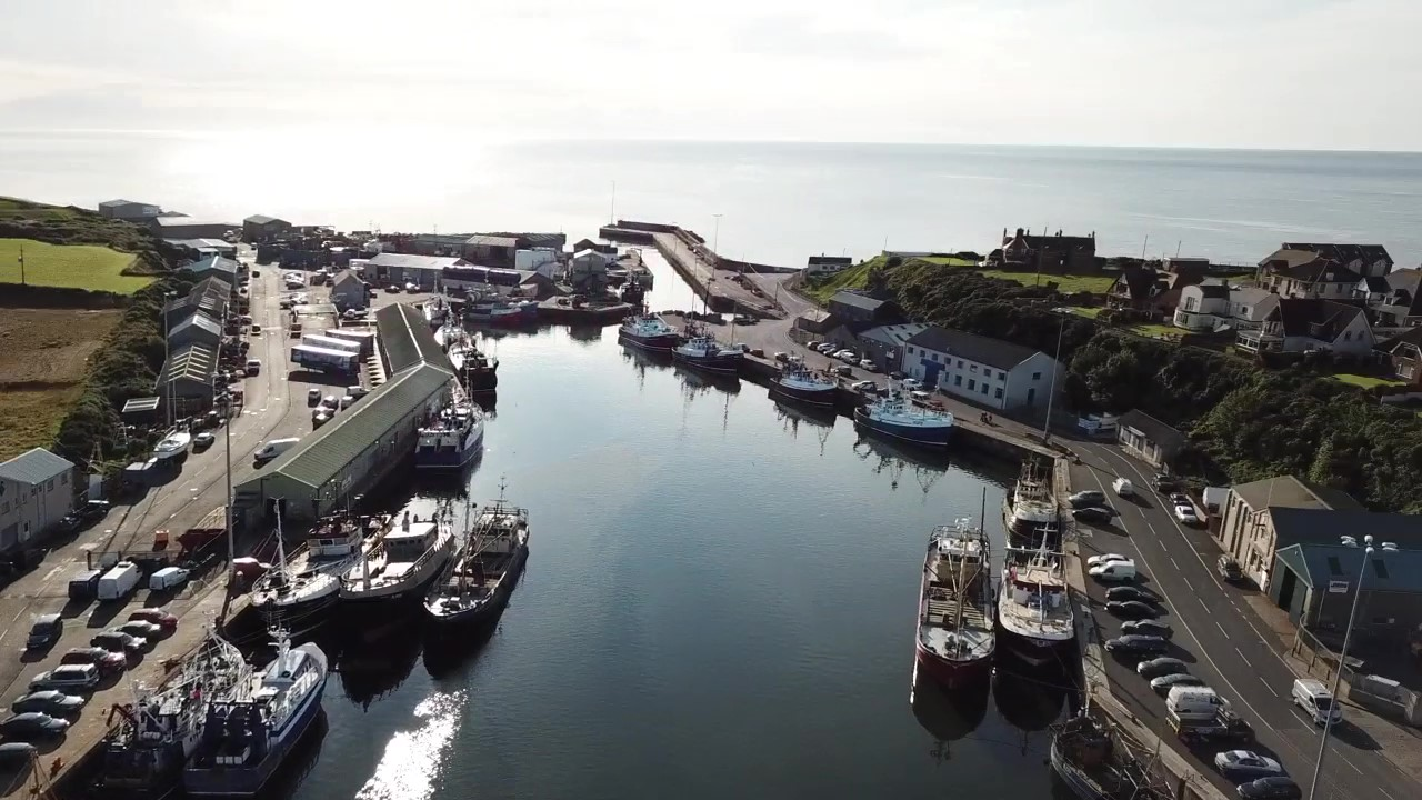 Kilkeel Harbour captured by Alan McCulla