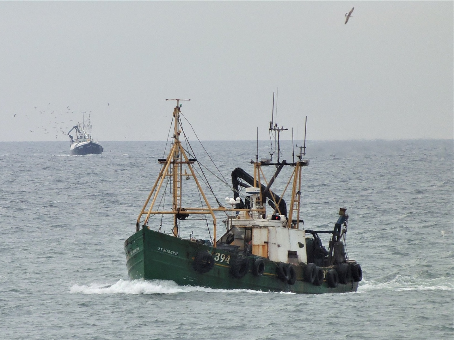 ST JOSEPH N394   Type: Wooden Hull Trawler  Size: 16.49m  Built: 1967; Anstruther