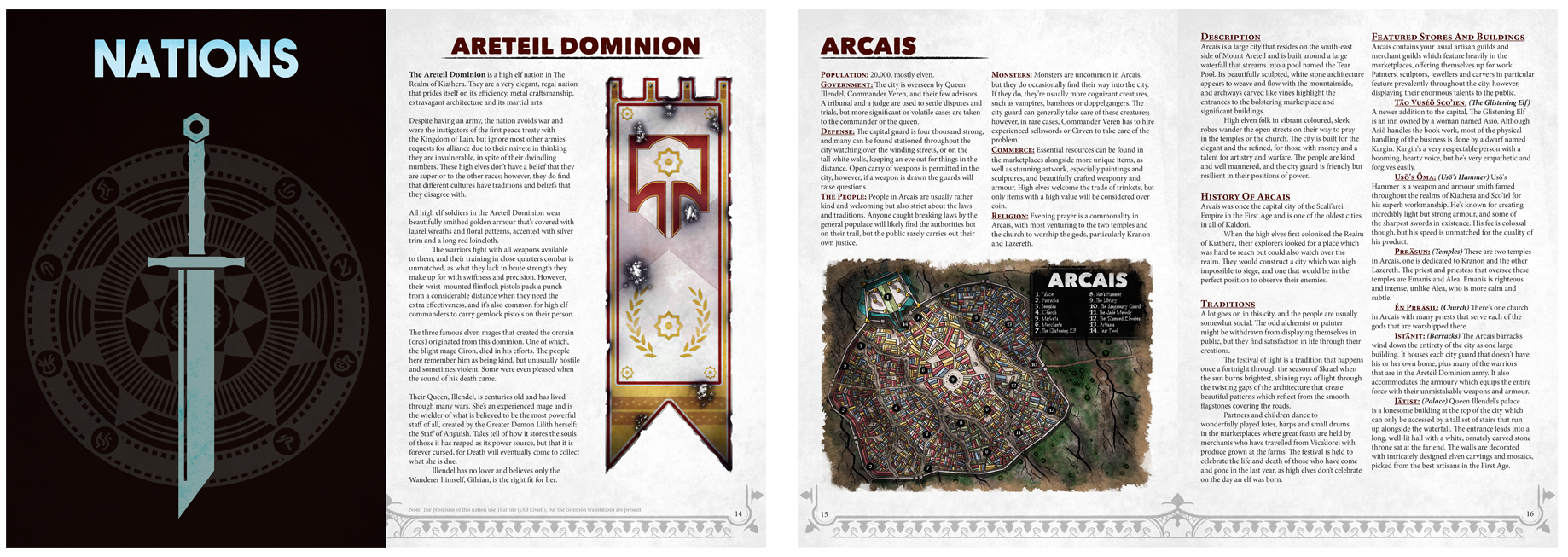 The Game Master's Handbook Example PDF - If you follow the link below, you'll be taken to a PDF example of what the GMHB's first few pages might look like. This is just preliminary of course; nothing that you see in that example is final. We welcome all feedback on the example and would love to hear what you have to say.