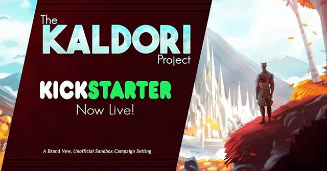 The Kaldori Project Kickstarter is now live! We've had a successful first 24 hours by reaching 21% of our funding goal!  https://www.kickstarter.com/projects/veris/the-kaldori-project-for-tabletop-roleplaying  The Kaldori Sandbox Setting is a massive unofficial add-on for the 5th Edition of the world's most popular roleplaying game. This project features a Player's Handbook and Game Master's Handbook, each of which includes an enormous amount of new content set within an extensive and detailed new  The sandbox features over 35 cities, towns, and villages; 8 new classes; 20+ new monsters; a bunch of new weapons, armours, and trinkets; 100+ side-quests; a set of new systems for character creation and gameplay; and an optional, main quest line. Whew!  From seasoned veterans to those new to tabletop role-playing, this project is for everyone. Kaldori: The Second Age's resources contain comprehensive detail about all its systems, allowing players and game masters to enjoy this brand new sandbox experience with confidence.  #dnd #dnd5e #dungeonsanddragons #kaldoriproject #kickstarter #battlemap #art #books #lore #worldbuilding #fantasy #fantasyworld