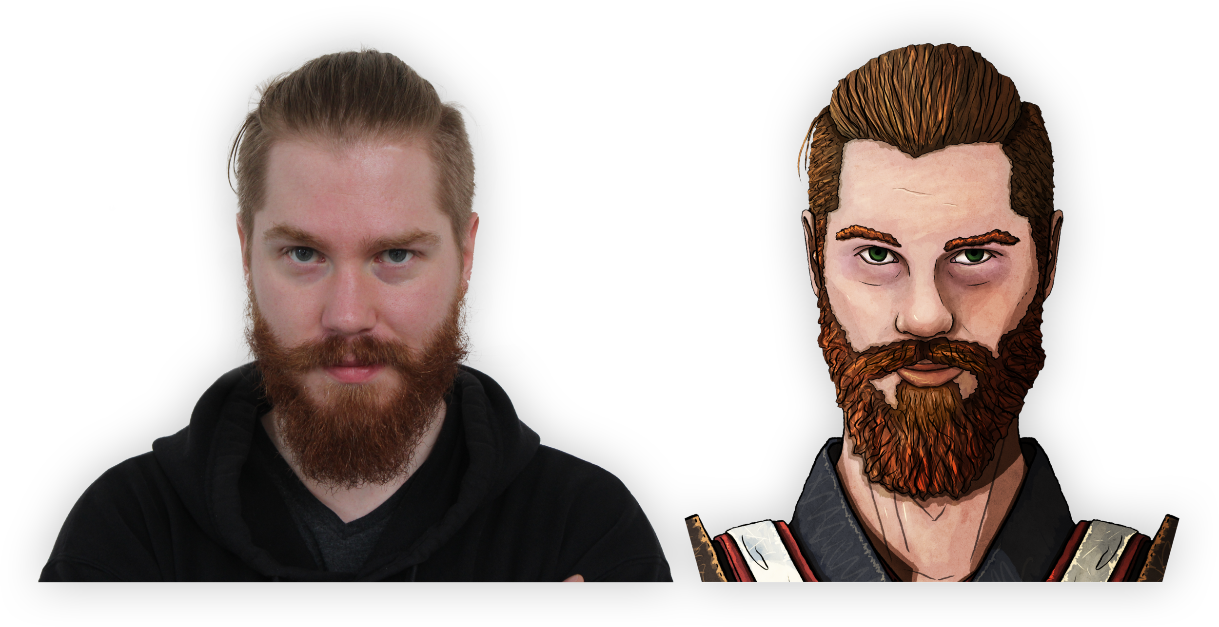 An example! - For reference of what to expect, here is our fantastic voice actor Robert, as the smuggler Artello.