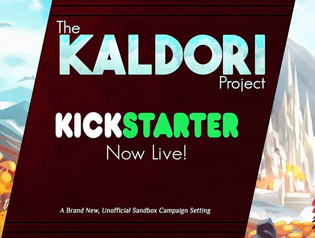 The Kaldori Project Kickstarter, a sandbox campaign setting for 5th Edition Dungeons and Dragons ends in less than 2 days! https://www.kickstarter.com/projects/veris/the-kaldori-project-for-tabletop-roleplaying  #dnd #dungeonsanddragons #dnd5e #kickstarter #kaldori #crowdfunding #crowdfundingcampaign #fantasy #worldbuilding #art #criticalrole #gamea #tabletopgames #boardgames