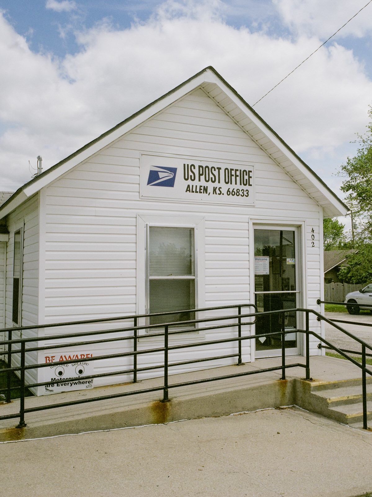 The Allen post office, where Don worked for a short bit!
