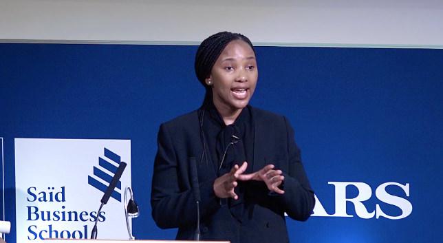 MBA学生的反思 - Barati Mahloele和Eleanor Brown