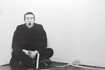 Bruce mclean - Bruce McLean is a Scottish sculptor, performance artist, filmmaker and painter. He studied at the Glasgow School of Art from 1961 to 1963, and from 1963 to 1966 at St. Martin's School of Art, London, where he and others rebelled against what appeared to be the formalist academicism of his teachers, including Anthony Caro and Phillip King. In 1965 he abandoned conventional studio production in favour of impermanent sculptures using materials such as water, along with performances of a generally satirical nature directed against the art world. When in 1972 he was offered an exhibition at the Tate Gallery, he opted for a 'retrospective' he titled