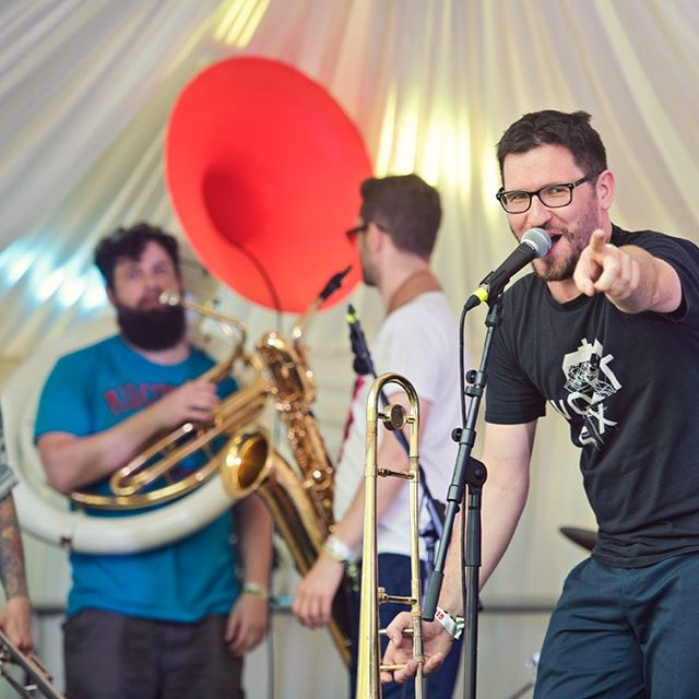 Massive thanks to @mostly_jazz festival for letting us come and party with them on their 10th birthday! It was a great weekend and we saw some amazing music! Looking forward to getting the new album out in winter so stay peeled!  Thanks for the awesome shoots @izakorsak . . . . .  #brassband #brassbands #music #musicians #drums #newmusic #follow  #liveband #livebands #tripping #jazz #livemusicphotography #indie #trombone #improvised #trumpet  #alrightna #youngpilgrims #birmingham #london #glasgow #uk #photography #livemusic #sousaphone #festival #brum #mostlyjazz #mostlyjazzfestival . . . @uuoonusic @tbonefoote @stoneylane @michael_owers @euanjam @silkenstein3000 @maddawgmusic @adders80 @stickle1990