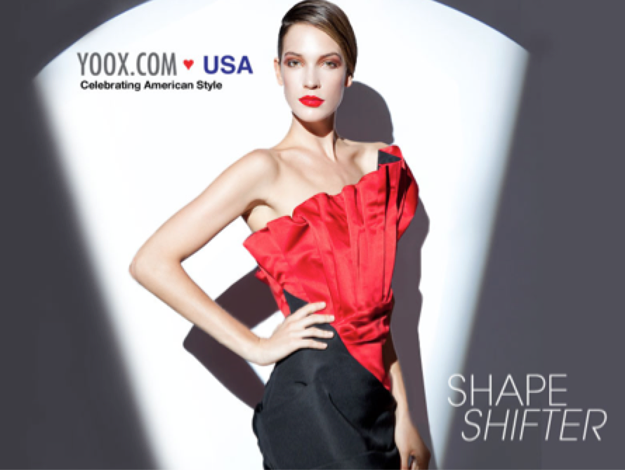 Shape Shifter - Highly innovative forms and lines abound in Shape Shifter, the third installment in our Yoox Loves USA series featuring the best American trends and designers. From spliced wool blazers to hip-extending dresses, Shape Shifter casts the spotlight on a fall lineup of looks that is unexpected and yet… so right.Excerpt published in The New Yooxer with words by Sophia J. Gonzalez