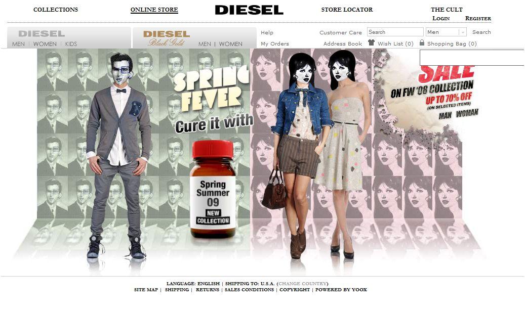 Diesel Homepage
