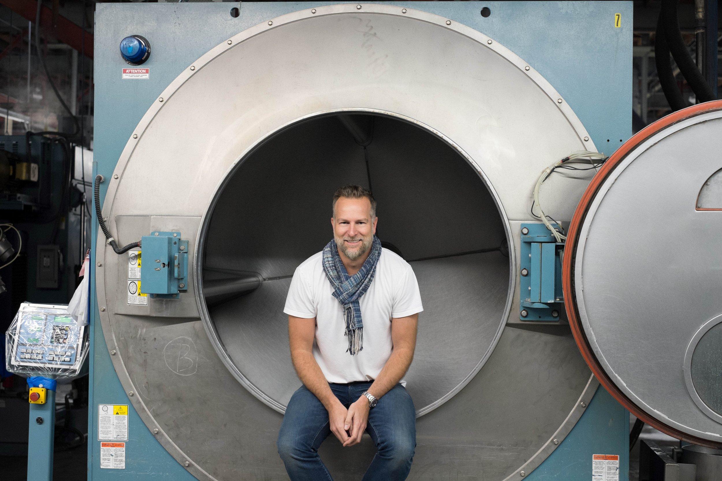 Photograph of Scott Morrison, courtesy of 3x1 Denim