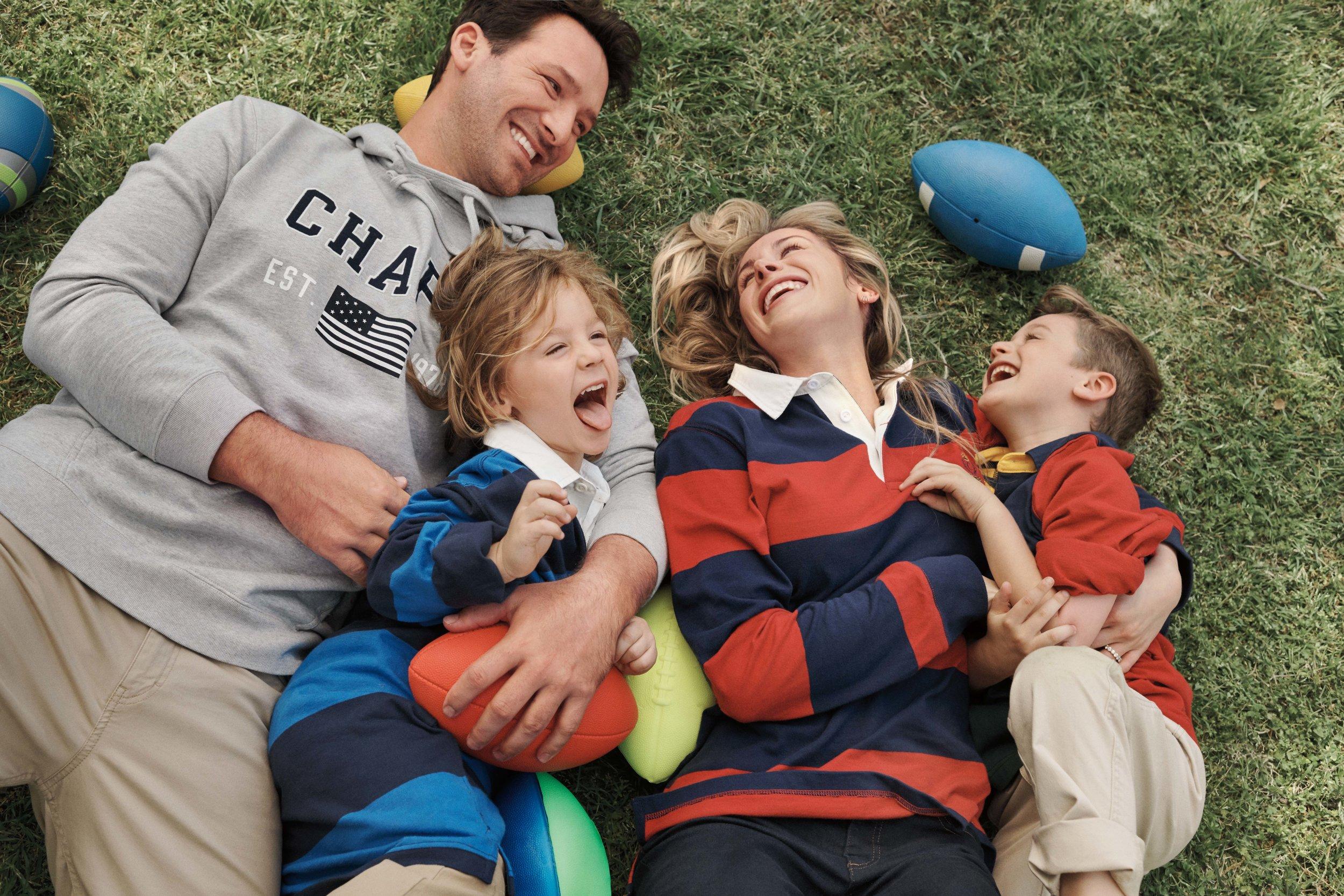 Tony Romo family Chaps