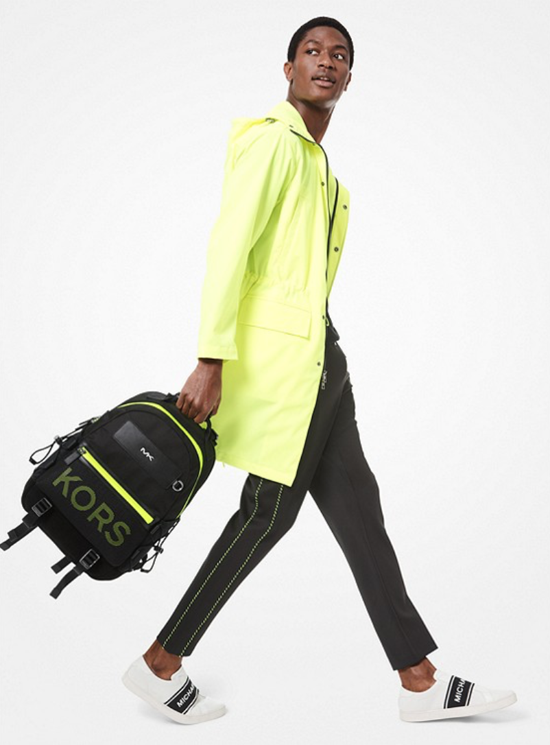 Brooklyn Mesh Backpack - Neon accents, statement