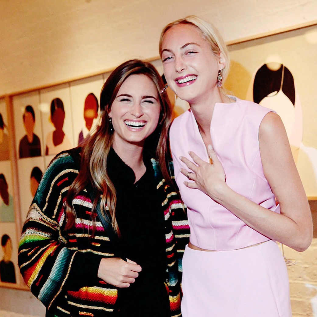 Claire Courtin-Clairins and Lauren Bush Lauren