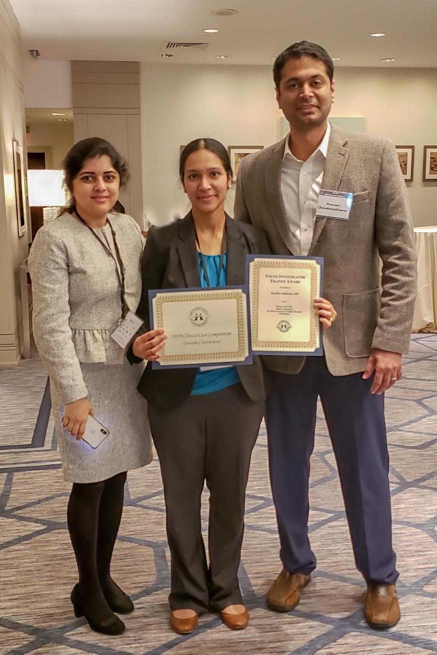 Drs. Rawat, Sankaran, & Chandrasekharan, 2019