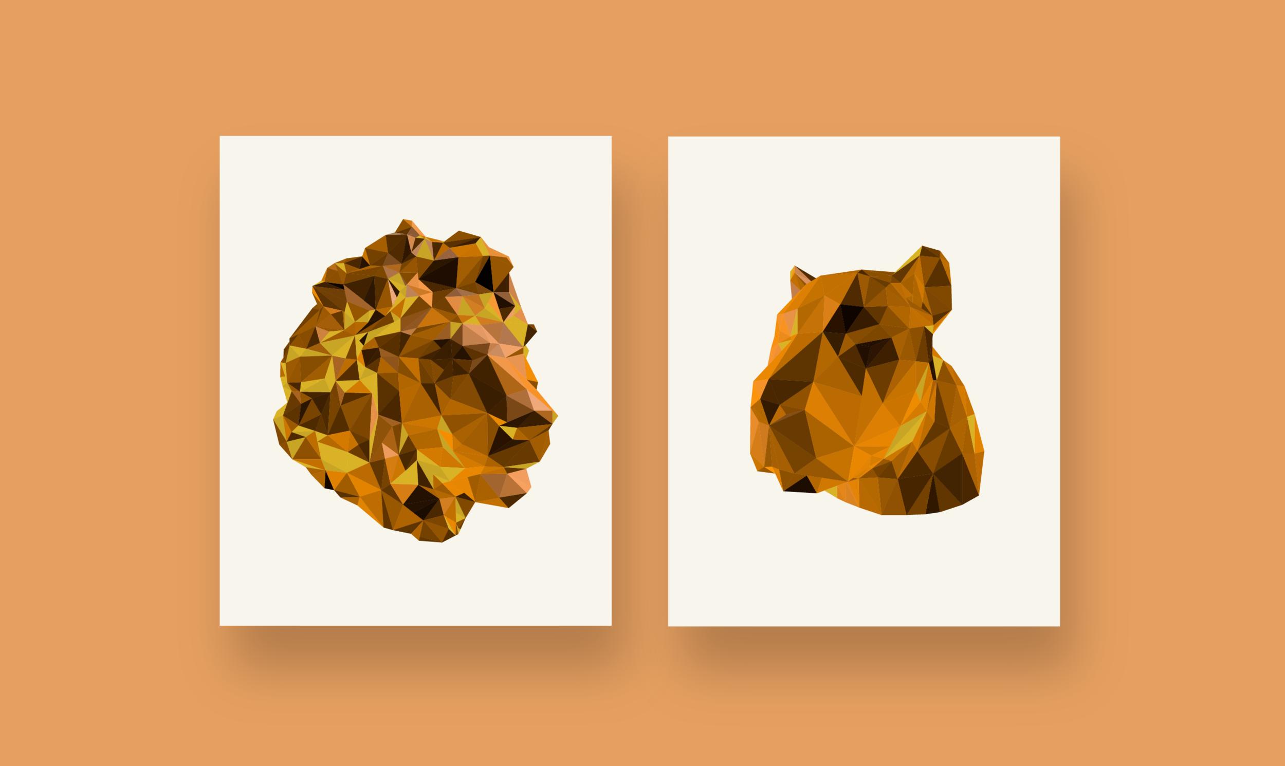 3D Illustration - Digital Print on Canvas