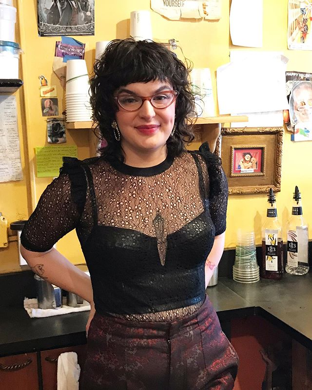 And last, but not least, Phoebe. Phoebe brings youthful energy, fun, and most definitely fashion. Every day is a look. Besides all of that, she is kind, and funny, and much, much more. We wish her all the best as she moves on out of KC. Thank you for everything, Phoebe.💗 #onemorecupkc #kccoffee #kcbaristas #waldokc