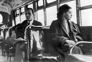 Rosa Parks, via wikipedia commons