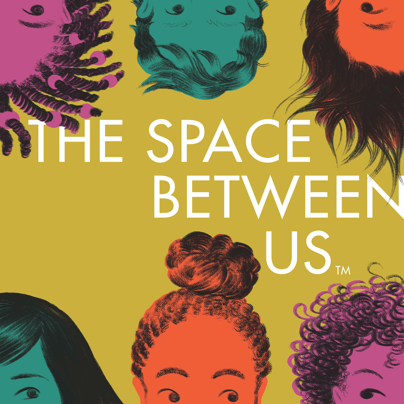 The Space Between Us - krystlecobran.com - podcast cover art by Eleanor Davis
