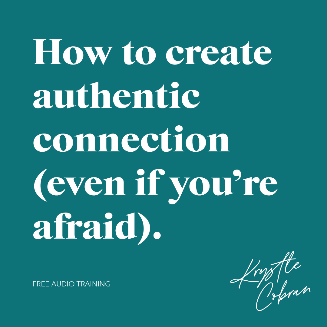 how to create authentic connection audio training coverKC_SocialTemplate_DeepSea.png