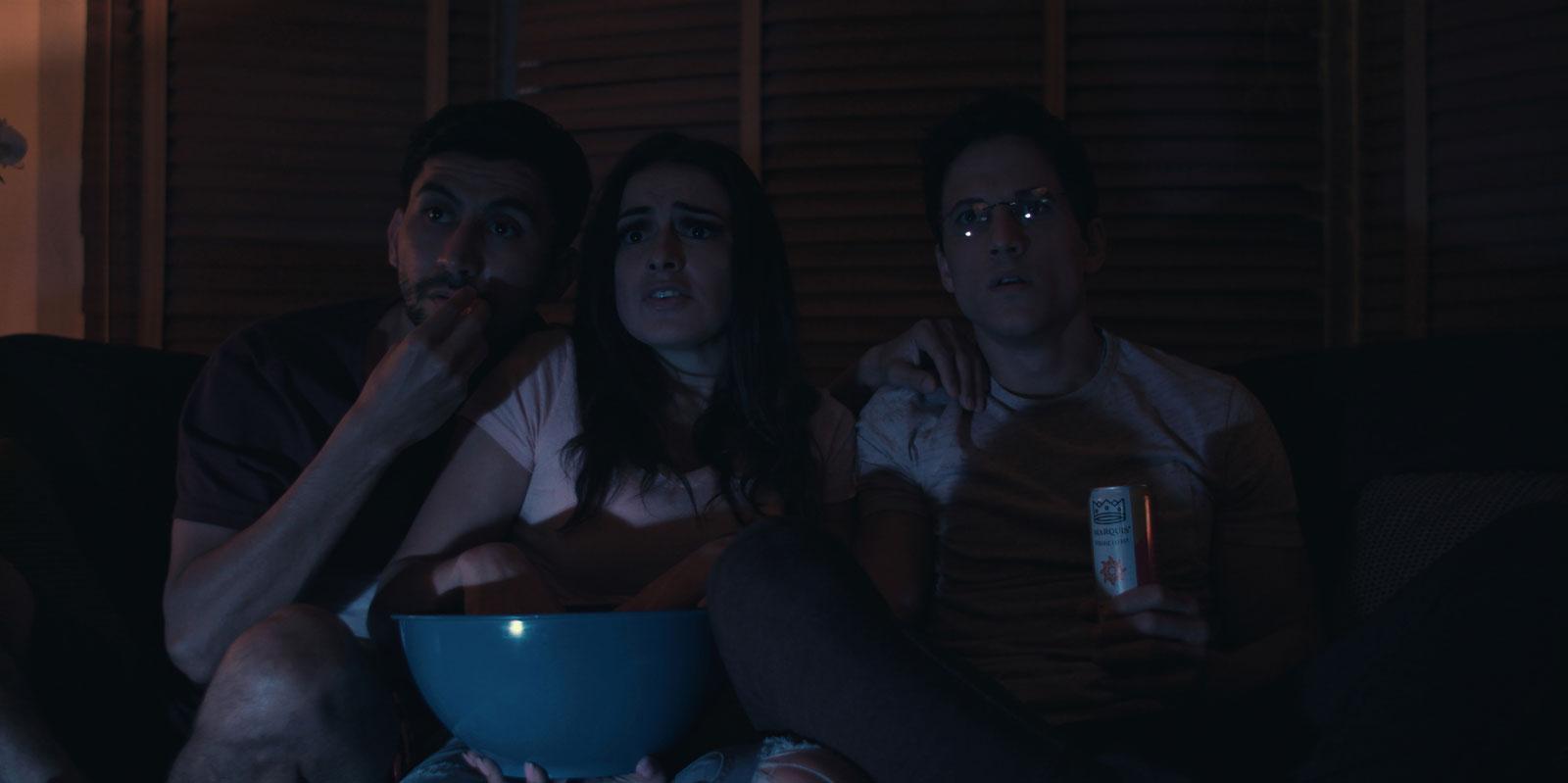 Isaac-(Rene-Mena)-Emily-(Vannessa-Vasquez)-and-Mark-(Mike-C.-Manning)-watch-TV.jpg