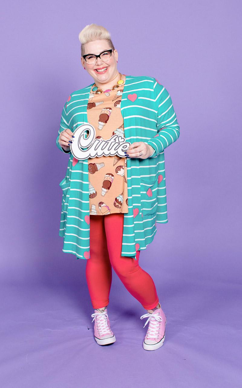 LuLaRoe-Caroline-Mid-Length-Cardigan-with-side-pockets-green-striped-pink-hearts.jpg
