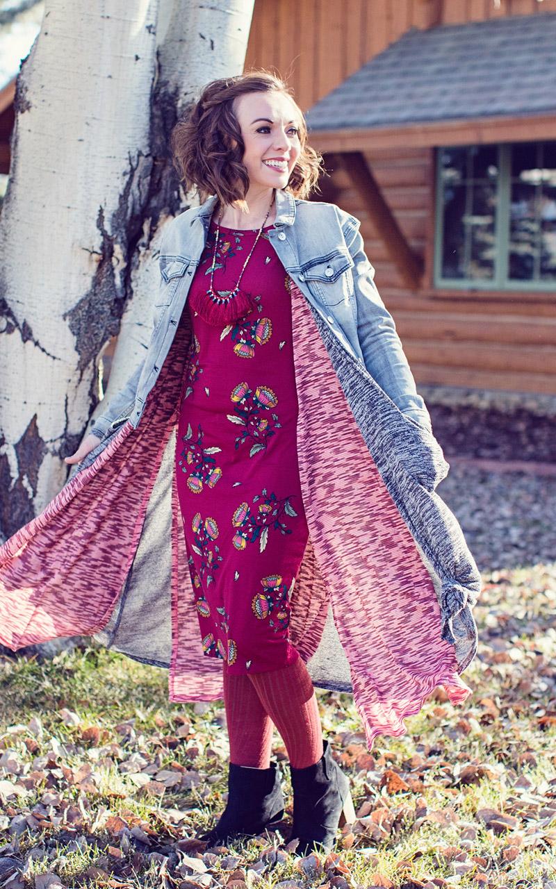 LuLaRoe-Julia-Mid-Lenght-Sheath-Dress-wine-color-with-flowers.jpg