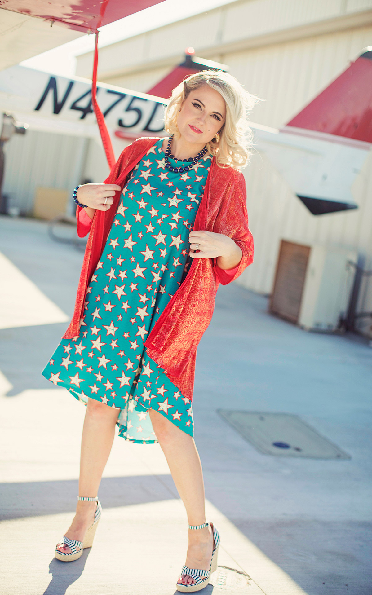 LuLaRoe-Carly-T-Shirt-High-Low-Dress-turquoise-stars-red-and-white.jpg
