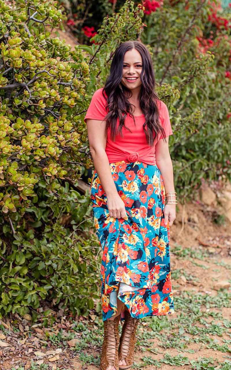 LuLaRoe-Maxi-Skirt-with-yoga-band-blue-and-orange-floral.jpg