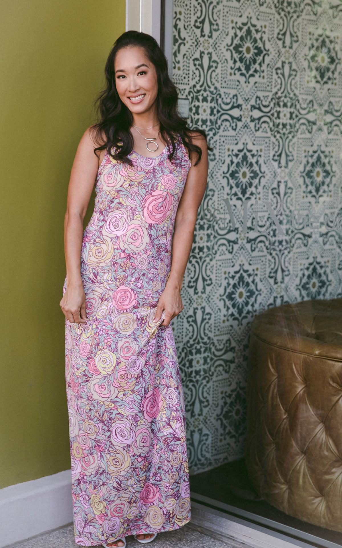 LuLaRoe-Dani-Maxi-Fitted-Sleeves-Dress-pink-pastel-floral.jpg