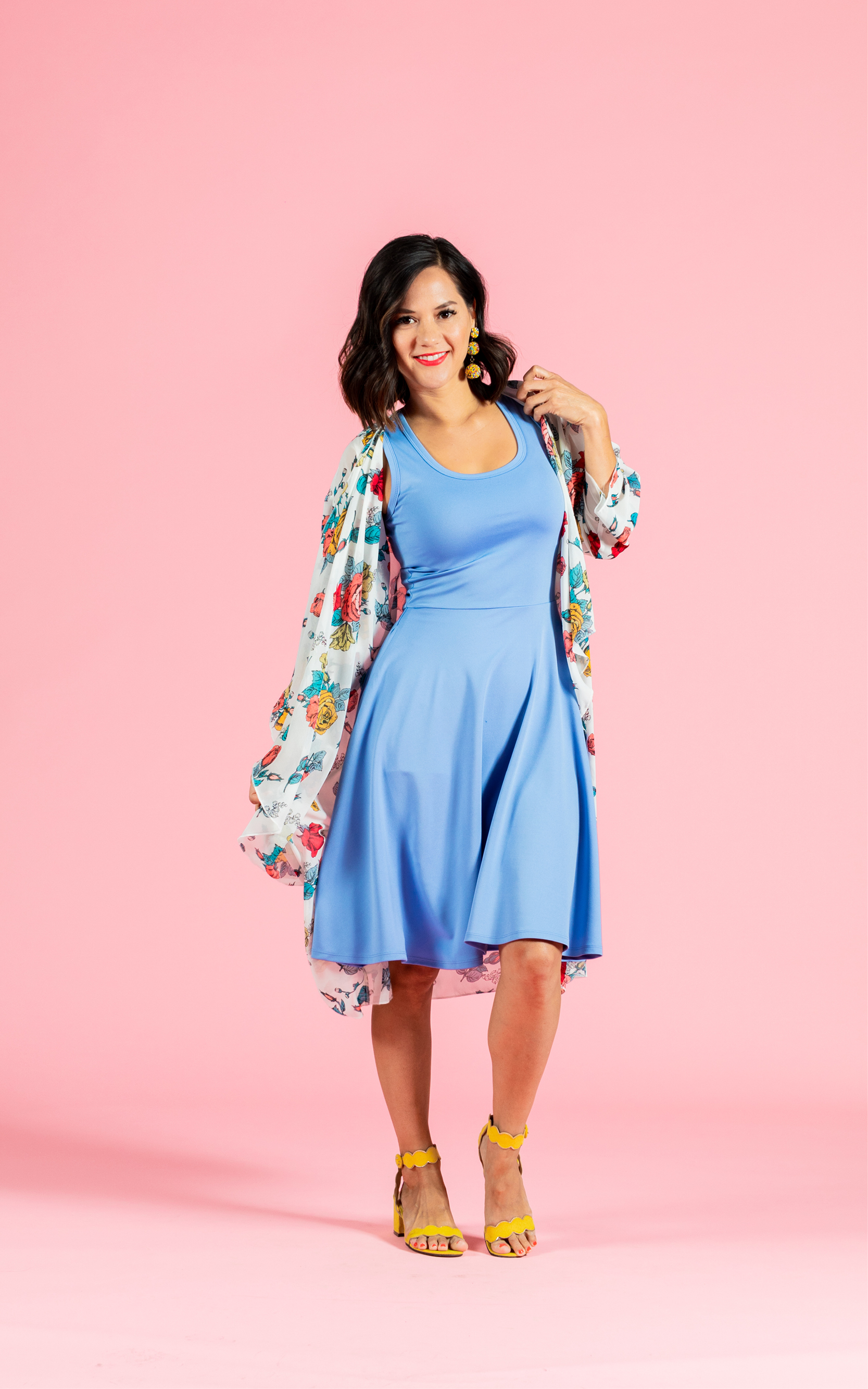 LULAROE-SLEEVELESS-DRESS-NICKI-A LINE SKIRT-LIGHT BLUE.jpg