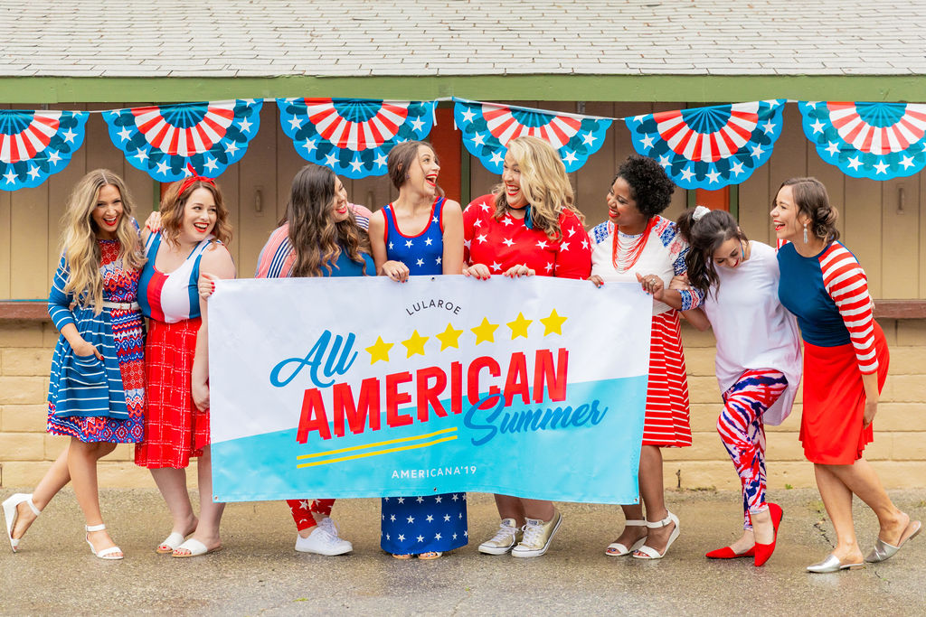 ALL AMERICAN SUMMER - LULAROE AMERICANA'19 COLLECTION