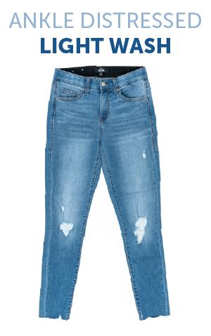 LuLaRoe 42 ORIGINAL STANDARD WASH DENIM Lycra Jeans Skinny Fit Stretchy! NWT