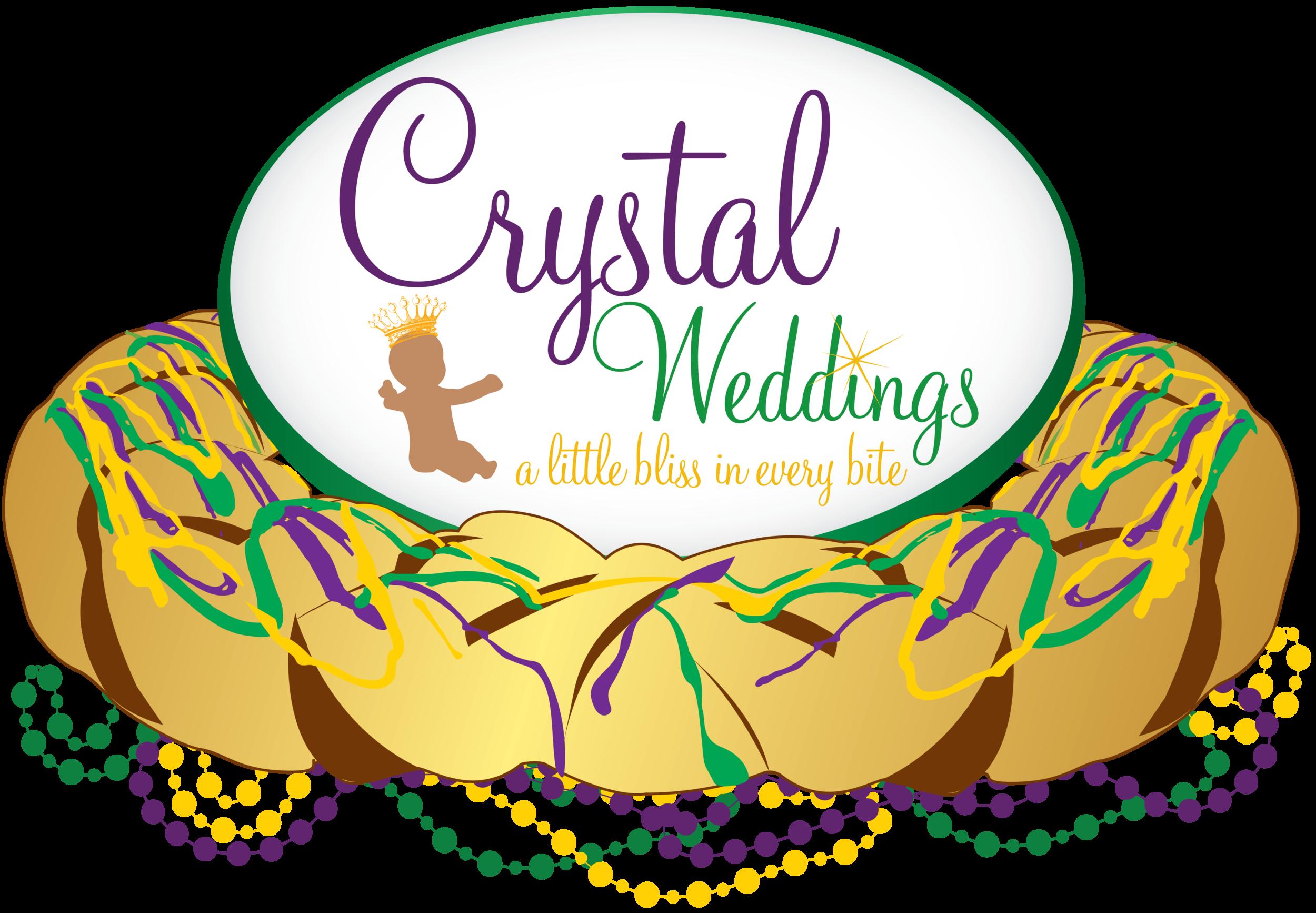 Crystal Weddings - King CakesLogo.png