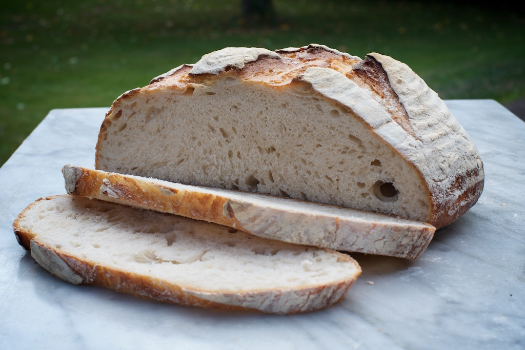 Everyday Sourdough - Our best selling light sourdough loaf, with a mild tang and not-too-chewy crust. Makes great toast.Available as 1kg & 500g boules & 1 kg baton