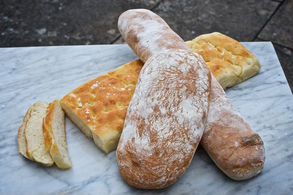 Ciabatta & Focaccia - Our ciabatta and focaccia are designed to make perfect deli sandwiches, or just to dip in olive oil and eat.Available in a range of sizes from a small (2 sandwich) to a whole tray